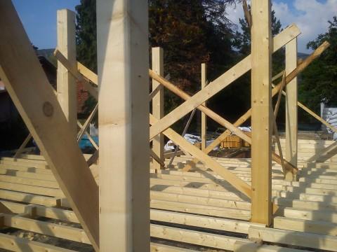 дървена конструкция